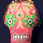 Make a Soft Dia De Los Muertos Skull
