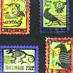 Stamping Halloween Postoids