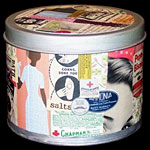 Upcycle a Metal Tin with Decoupage