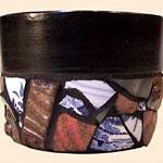 Terra Cotta Mosaic Planter
