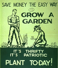 Save money the easy way - grow a garden. It's thrifty - it's patriotic - plant to-day!