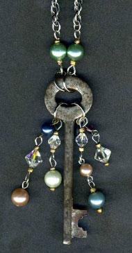 Make an Antique Key Necklace